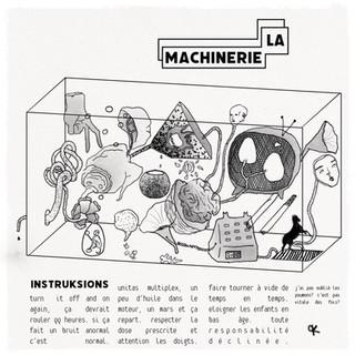 La machinerie (autoportrait), nov 2020
