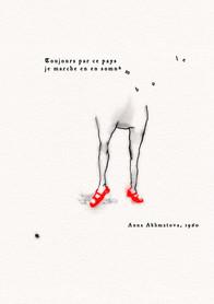 Anna Akhmatova - Toujours par ce pays..., 1960