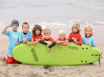 Kids beach camp (sprouts)