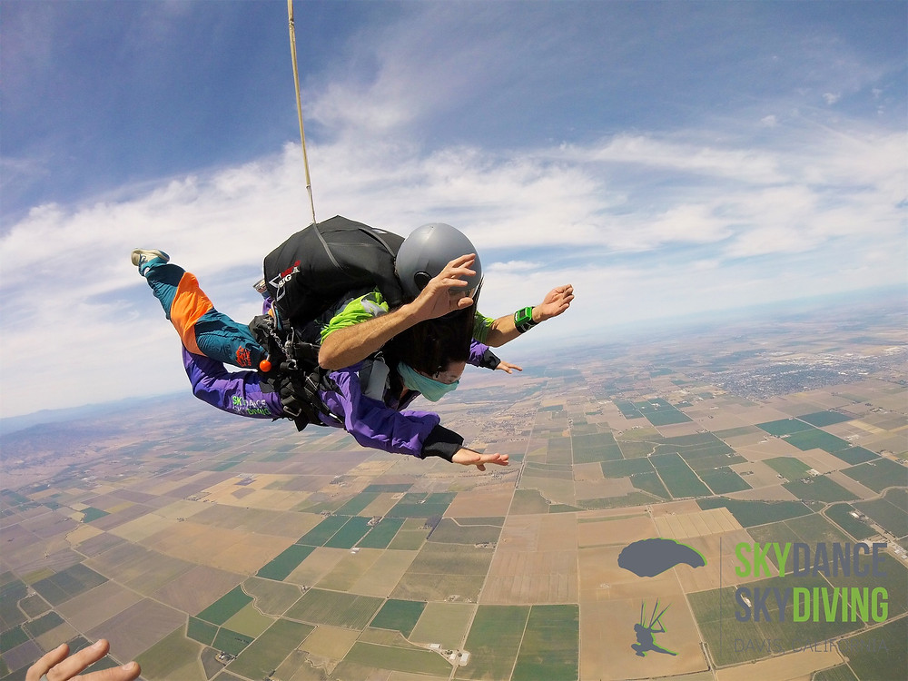 Entrepreneurial Mindset   Get out of comfort zone   Midori skydiving