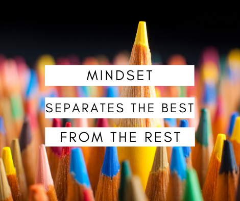 Mindset Separates the Successful from Unsuccessful