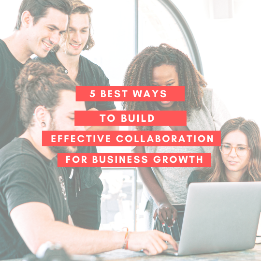 Power of collaboration to achieve business goals