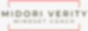 Midori Verity modern logo.png