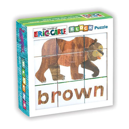 Eric Carle Brown Bear, Brown Bear What Do You See? Block Puzzle
