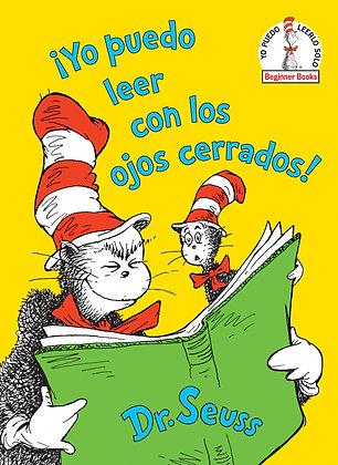 ¡Yo puedo leer con los ojos cerrados! (