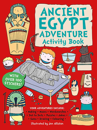 Ancient Egypt Adventure Activity Book