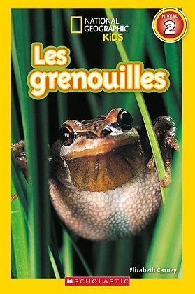 National Geographic Kids : Les grenouilles (niveau 2)