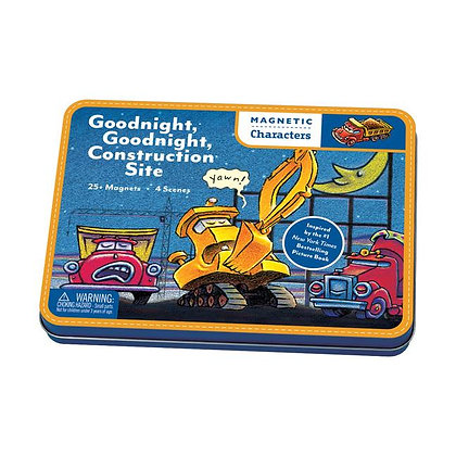 Goodnight, Goodnight Construction Site Magnetic Characters Set