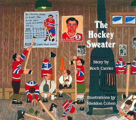 The Hockey Sweater (Boardbook)
