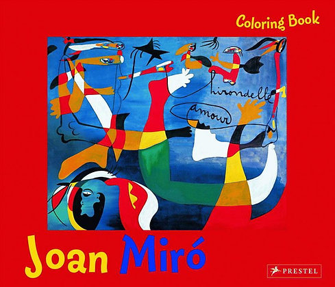 Coloring Book Joan Miro
