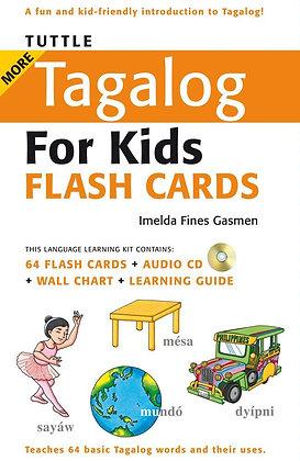Tuttle More Tagalog for Kids Flash Cards Kit