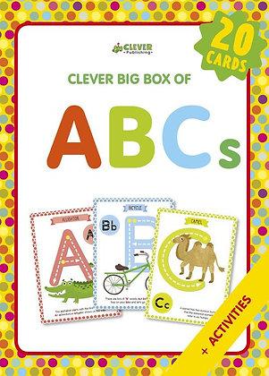 ABCs Large Laminated Memory Flashcards