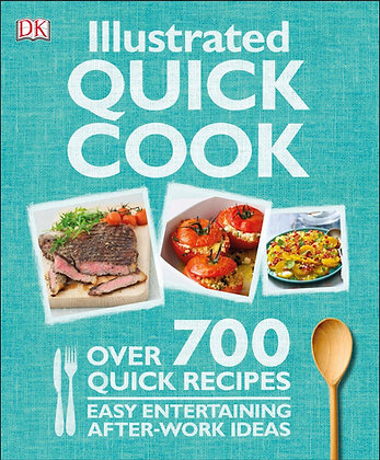 Illustrated Quick Cook Paperback