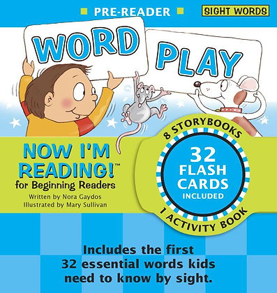 Now I'm Reading! Pre-Reader: Word Play