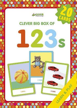 123s Large Memory Flashcard Box Set