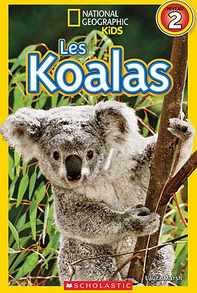 National Geographic Kids : Les koalas (niveau 2)