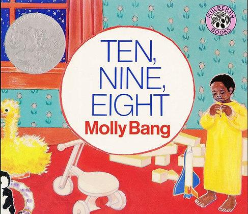 Ten, Nine, Eight Board Book