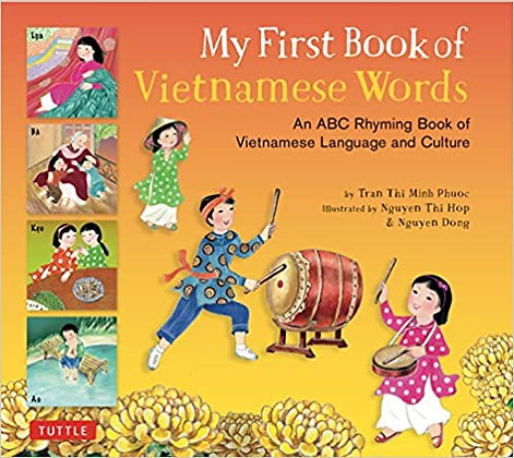 My First Book of Vietnamese Words - Hardcover