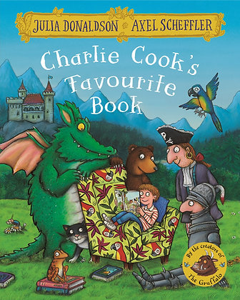 Charlie Cook's Favourite Book - Board Book