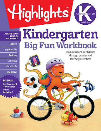 Kindergarten Big Fun Workbook