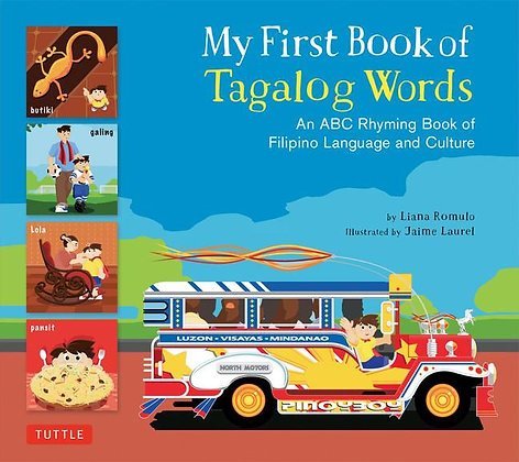 My First Book of Tagalog Words - Hardcover