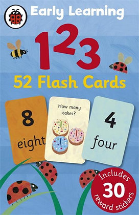 Early Learning 123 52 Flash Cards