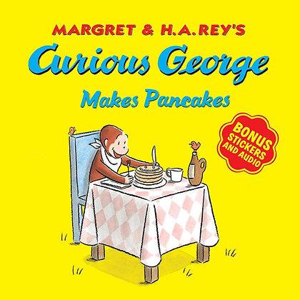 Curious George Makes Pancakes (with bonus stickers and audio)