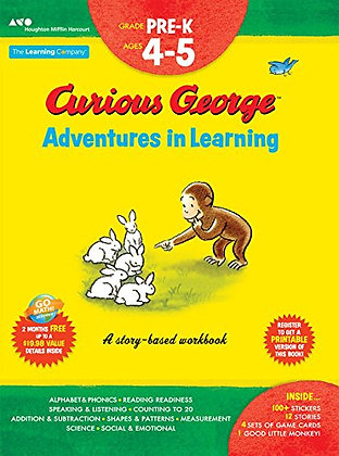 Pre-K: Curious George Adventures in Learning