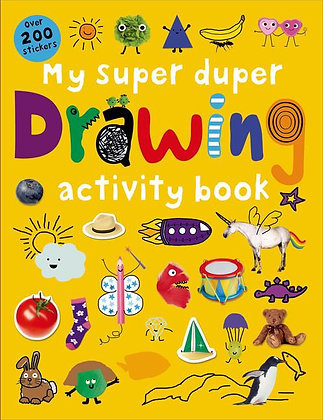 My Super Duper Drawing Activity Book