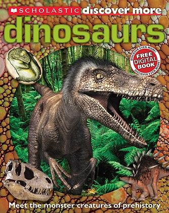 Scholastic Discover More: Dinosaurs (Confident Reader)