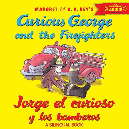 Jorge el curioso y los bomberos  (bilingual ed.) w/downloadable audio