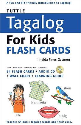 Tuttle Tagalog for Kids Flash Cards Kit