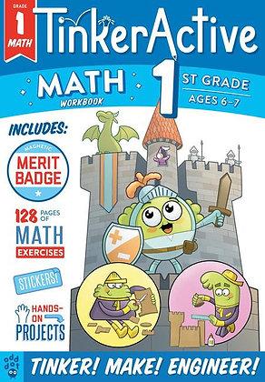 TinkerActive Workbooks: 1st Grade Math