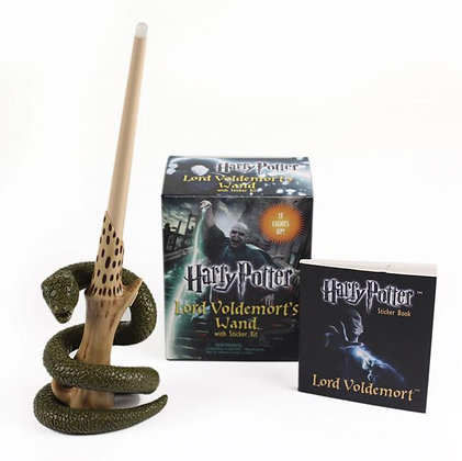 Harry Potter Lord Voldemort's Wand with Sticker Kit