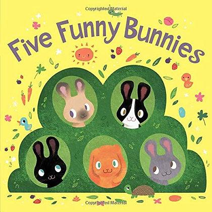 Five Funny Bunnies (board Book)