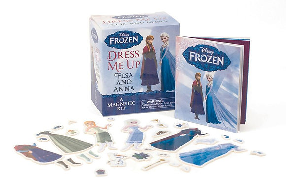 Frozen: Dress Me Up Elsa and Anna