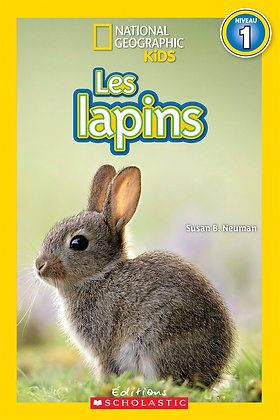 National Geographic Kids : Les lapins (niveau 1)
