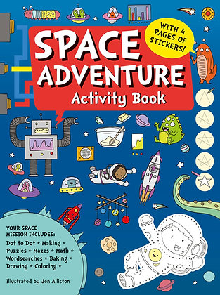 Space Adventure Activity Book