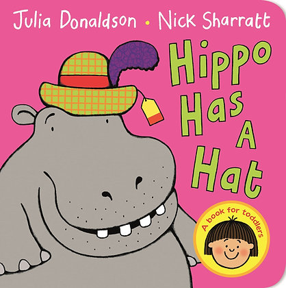 Hippo Has A Hat - Board Book