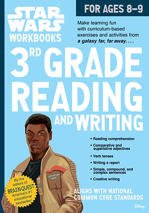 Star Wars Workbook: 3rd Grade Reading and Writing