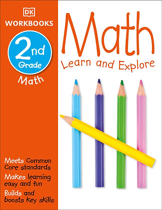 DK Workbooks: Math, Second Grade