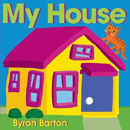My House Board Book