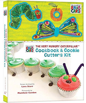 Very Hungry Caterpillar Cookbook and Cookie Cutters Kit, The