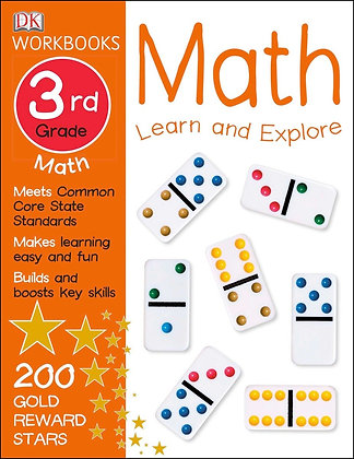DK Workbooks: Math, Third Grade