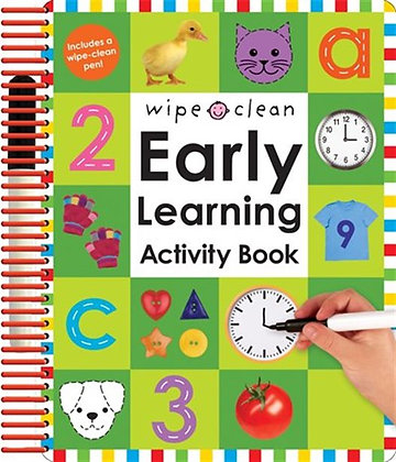 Wipe Clean - Early Learning