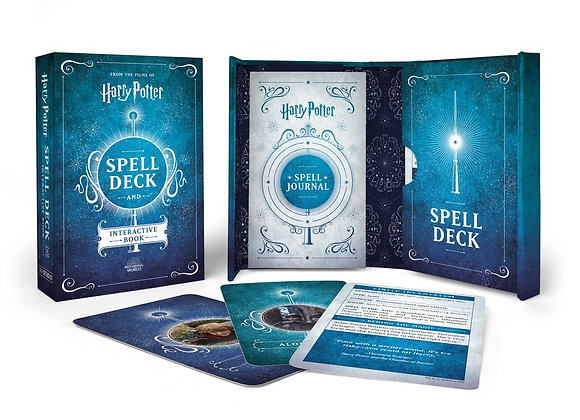 Harry Potter: Spell Deck and Interactive Book