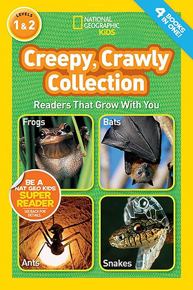 National Geographic Readers: Creepy Crawly Collection