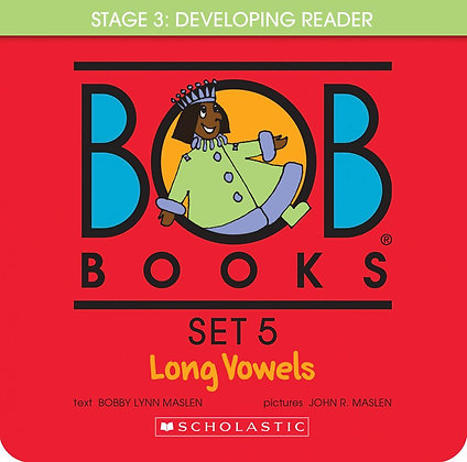 Bob Books Set 5- Long Vowels (Box Set)