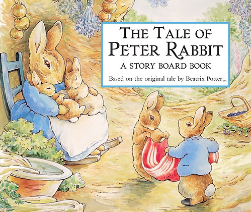 Tale of Peter Rabbit Story Board Book, The