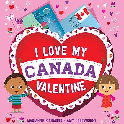I Love My Canada Valentine